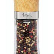 Moulin--poivreselpices-vide-avec-broyeur-en-cramique-vendu-vide-dans-un-emballage-cadeau-150-ml-hauteur-155-cm-bois-0-3