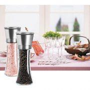 oobest-Moulin--Poivre-Manuel-Moulin--Sel-et-Epices-en-Inox-Robuste-Portable-avec-Broyage-Ajustable-Pour-Cuisine-Repas-Plat-Table-Lot-de-2-Moulins-0-4