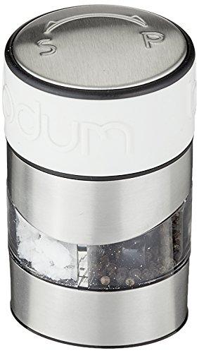 Bodum-11002-913-Twin-Moulin-Poivre-et-Sel-Combin-Bandeau-Blanc-Crme-0