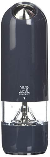 Peugeot-Saveurs-228503-Alaska-Coffret-Duo-Moulin–Poivre-et–Sel-Electrique-ABS-Quartz-17-cm-0