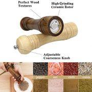 Yotako-Moulin--poivre-et-sel-en-bois-203-cm-rglable-Moulin--poivre-avec-mini-cuillre-en-bois-et-brosse-de-nettoyage-pour-barbecue-cuisine--la-maison-lot-de-2-0-0